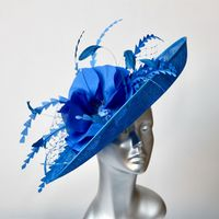 16365 Bluebell Blue MOB/MOG Wedding Hat Hatinator SD717